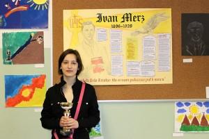 """Petra Jambrović, OŠ """"Ljubljanica"""" - pobjednica u kategoriji Literarni rad"""